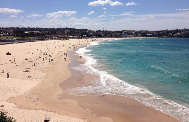 """شاطئ """"بوندي Bondi beach"""