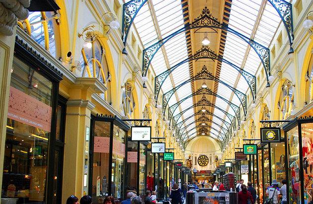 الممرات و الأزقة بملبورن Arcades and Laneways