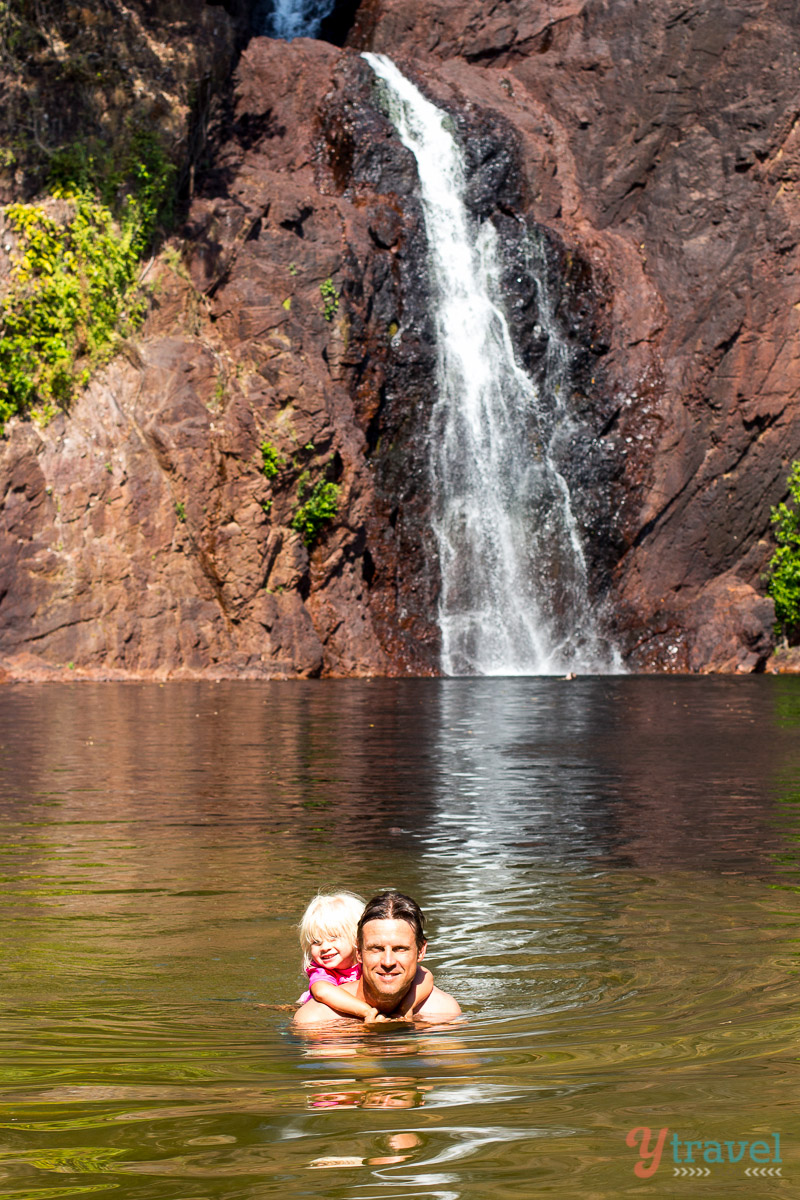 """شلالات """"وانجي"""" - حديقة""""ليتشفيلد"""" الوطنية Wangi Falls, Litchfield National Park"""