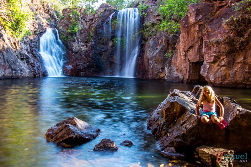 شلالات فلورنسا ، حديقة ليتشفيلد الوطنية Florence Falls, Litchfield National Park