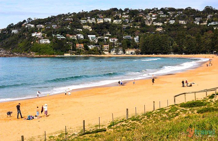 شاطئ بالم بيتش، سيدني Palm Beach, Sydney
