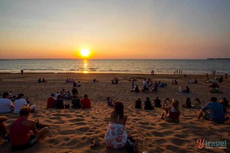 """الغروب في شاطئ"""" ميندل"""" - داروين Mindel Beach, Darwin"""