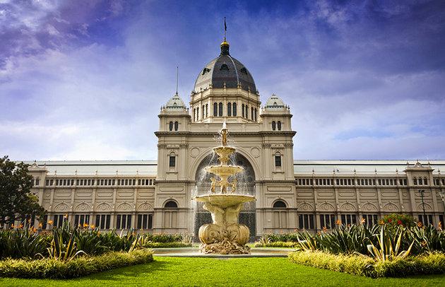متحف ملبورن ومبنى رويال للمعارض Melbourne Museum and Royal Exhibition Building