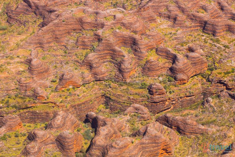 قباب بانجل بانجل الصخرية من الحجر الرملي