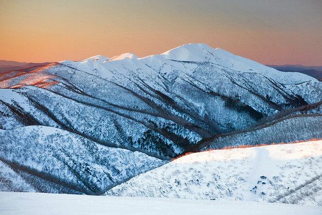 جبل فيثيرتوب، على مقربة من سهل دينر بلين