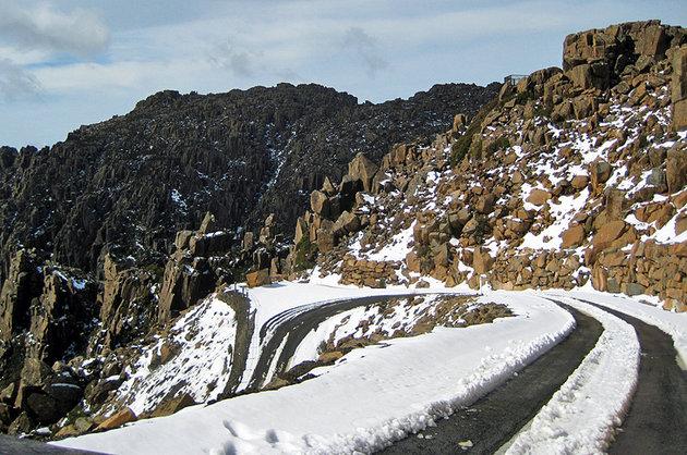 منطقة حقل تزلج بن لوموند، حديقة بن، لوموند الوطنية,تاسمانيا