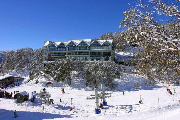 منتجع شلالات كريك ، حديقة جبال الألب الوطنية، فيكتوريا