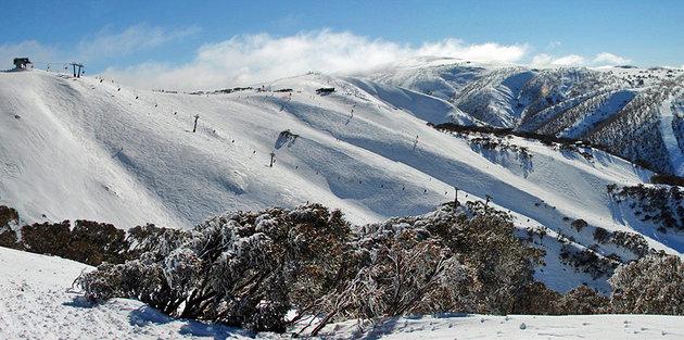 منتجع جبل هوثام، الأسترالي، حديقة الألب الأسترالية الوطنية، فيكتوريا- Mt. Hotham, Australian Alps National Park, Victoria