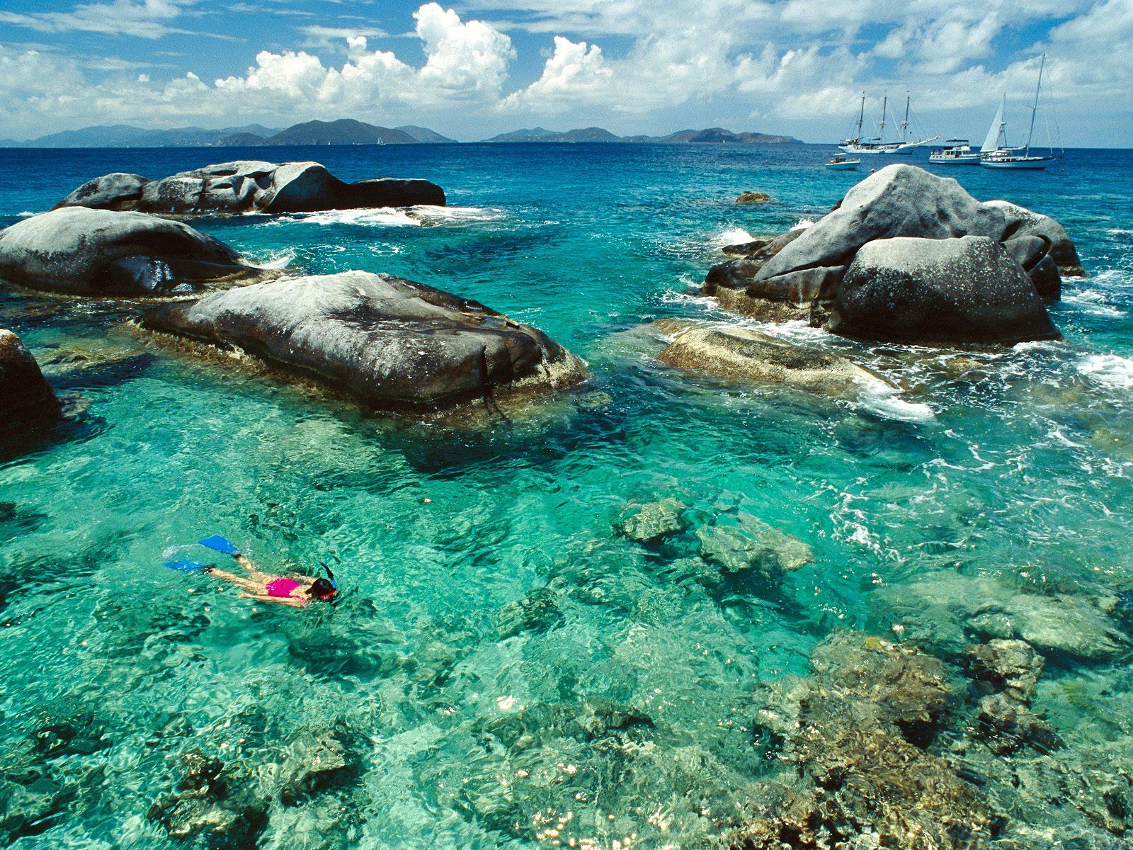 المناظر الطبيعية الرائعة في جزيرة روتنيست