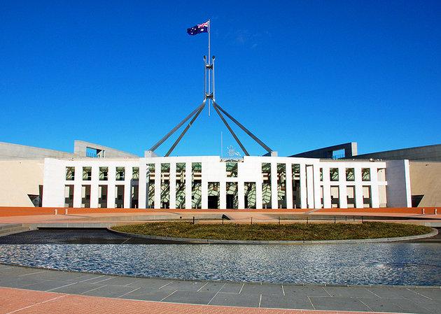 مقر بيت البرلمان الأسترالي
