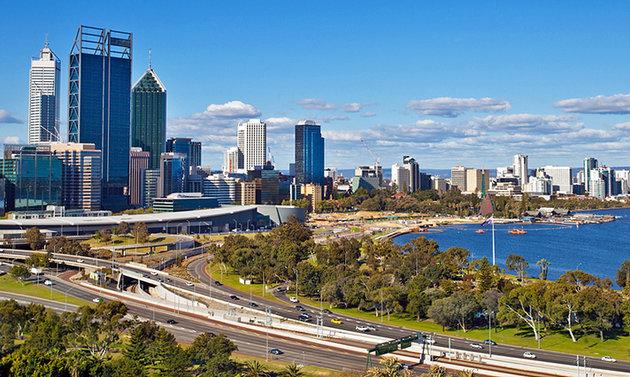 مدينة بيرث عاصمة استراليا الغربية Perth