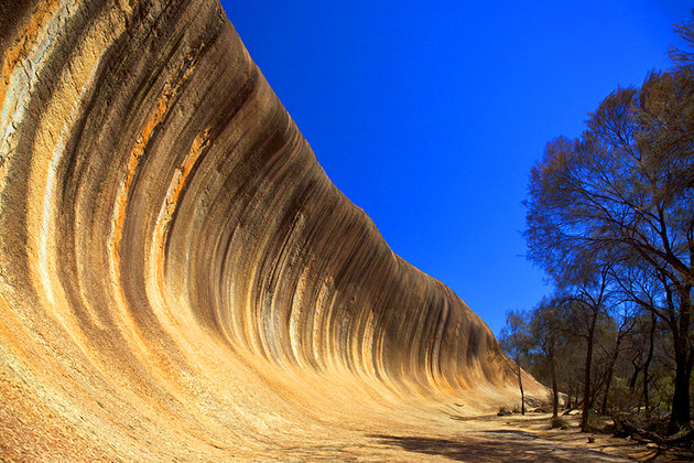صخرة روك ويف - الموجة Wave Rock